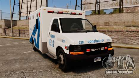 Brute Ambulance Toronto [ELS] para GTA 4