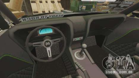 Ford Mustang RTRX para GTA 4 vista interior