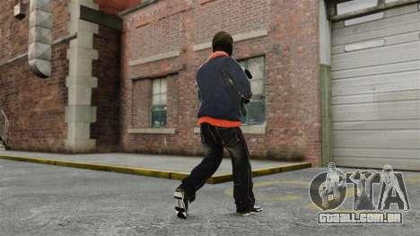 Franklin Clinton v2 para GTA 4 por diante tela