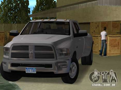 Dodge Ram 3500 Laramie 2012 para GTA Vice City