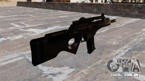 HK SL8 rifle Bullpup para GTA 4 segundo screenshot