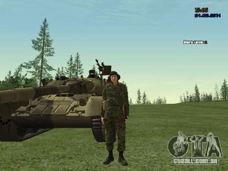 Tankman para GTA San Andreas terceira tela
