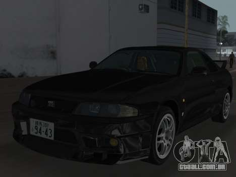 Nissan SKyline GT-R BNR33 para as rodas de GTA Vice City