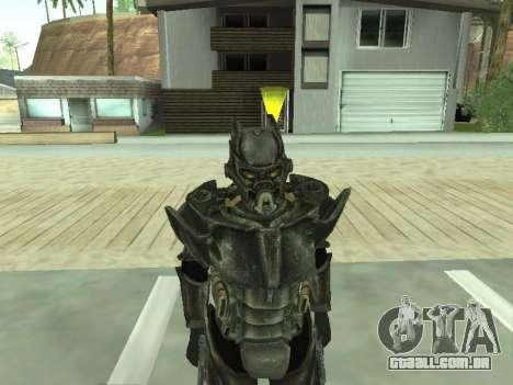 New skin from Fallout 3 para GTA San Andreas por diante tela
