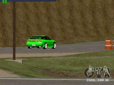 Nissan 240SX Drift Version para GTA San Andreas vista direita