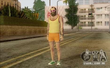 Trevor Phillips para GTA San Andreas segunda tela
