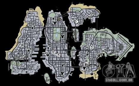Liberty City Map V Style para GTA 4 terceira tela