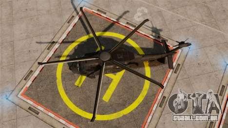Sikorsky MH-X Silent Hawk [EPM] para GTA 4 vista direita