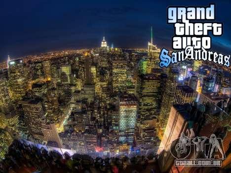 Loadscreens New-York para GTA San Andreas oitavo tela