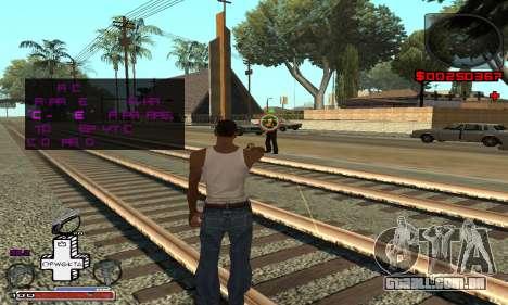 OFWGKTA P-HUD para GTA San Andreas terceira tela