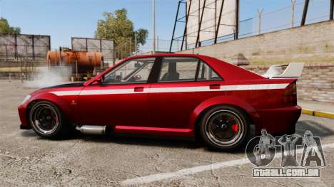 Sultan RS Sedan para GTA 4 esquerda vista