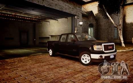 GMC Sierra 2500HD 2010 para GTA 4 traseira esquerda vista