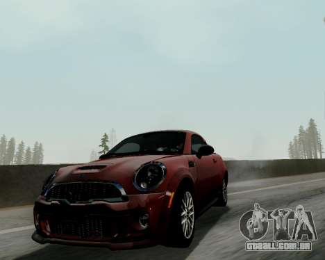 MINI Cooper S 2012 para GTA San Andreas