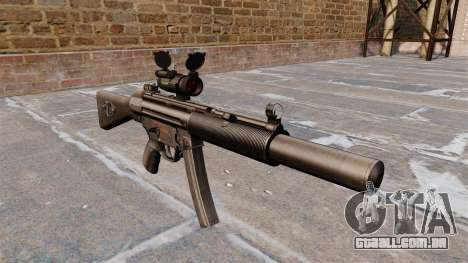 Pistola-metralhadora HK MP5SD2 para GTA 4
