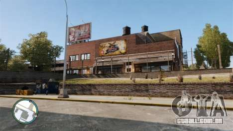 Liberty City Map V Style para GTA 4 segundo screenshot