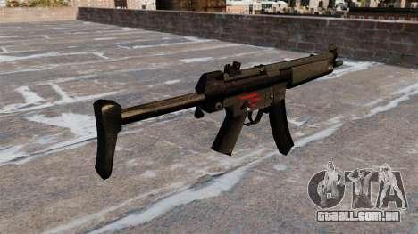 Pistola-metralhadora HK MR5A3 para GTA 4 segundo screenshot