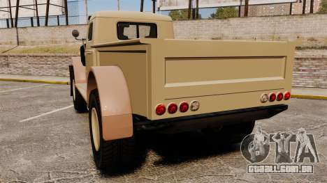 GTA V Bravado Duneloader para GTA 4 traseira esquerda vista
