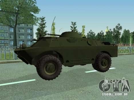 BRDM 2 para GTA San Andreas esquerda vista
