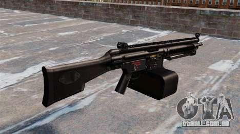 Metralhadora de uso geral Heckler e Koch HK21 para GTA 4 segundo screenshot