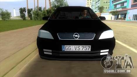 Opel Astra G Caravan 1999 para GTA Vice City vista traseira esquerda