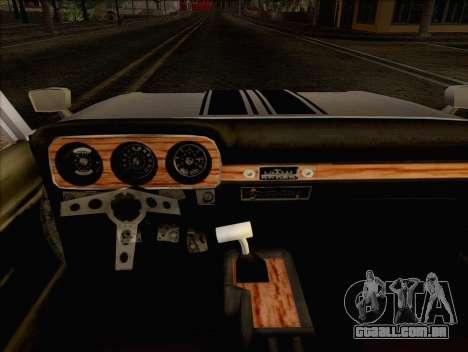 Ford Falcon para GTA San Andreas traseira esquerda vista