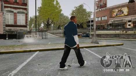 Clinton Franklin para GTA 4 terceira tela
