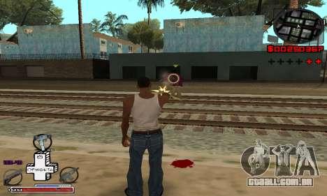 OFWGKTA P-HUD para GTA San Andreas segunda tela
