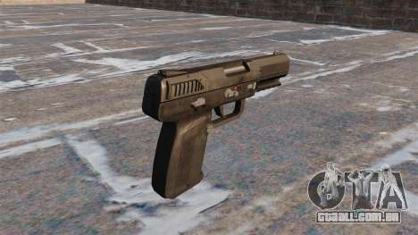 Carregamento automático pistola FN Five-seveN MW para GTA 4 segundo screenshot