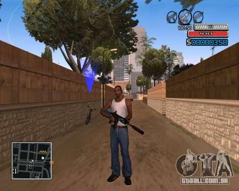 (C) HUD-por Wh_SkyLine para GTA San Andreas