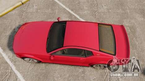 GTA V Vapid Dominator 450cui Supercharged para GTA 4 vista direita