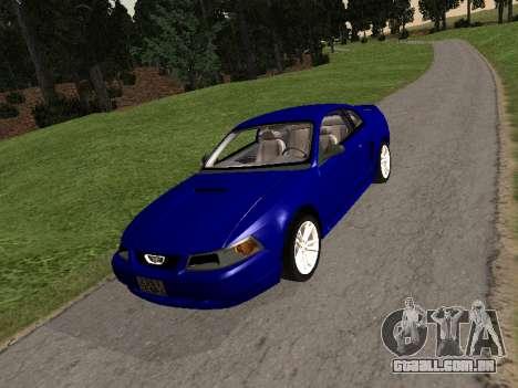 Ford Mustang GT 1999 para GTA San Andreas