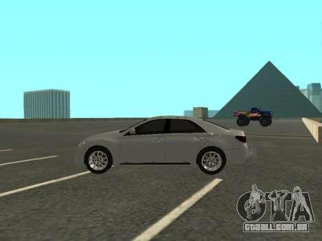 Toyota Mark X para GTA San Andreas esquerda vista
