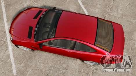 GTA V Schwarzer para GTA 4 vista direita