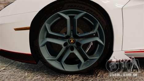 Lamborghini Aventador LP700-4 2012 [EPM] Lamotte para GTA 4 vista de volta