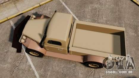 GTA V Bravado Duneloader para GTA 4 vista direita