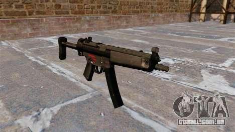 Pistola-metralhadora HK MR5A3 para GTA 4