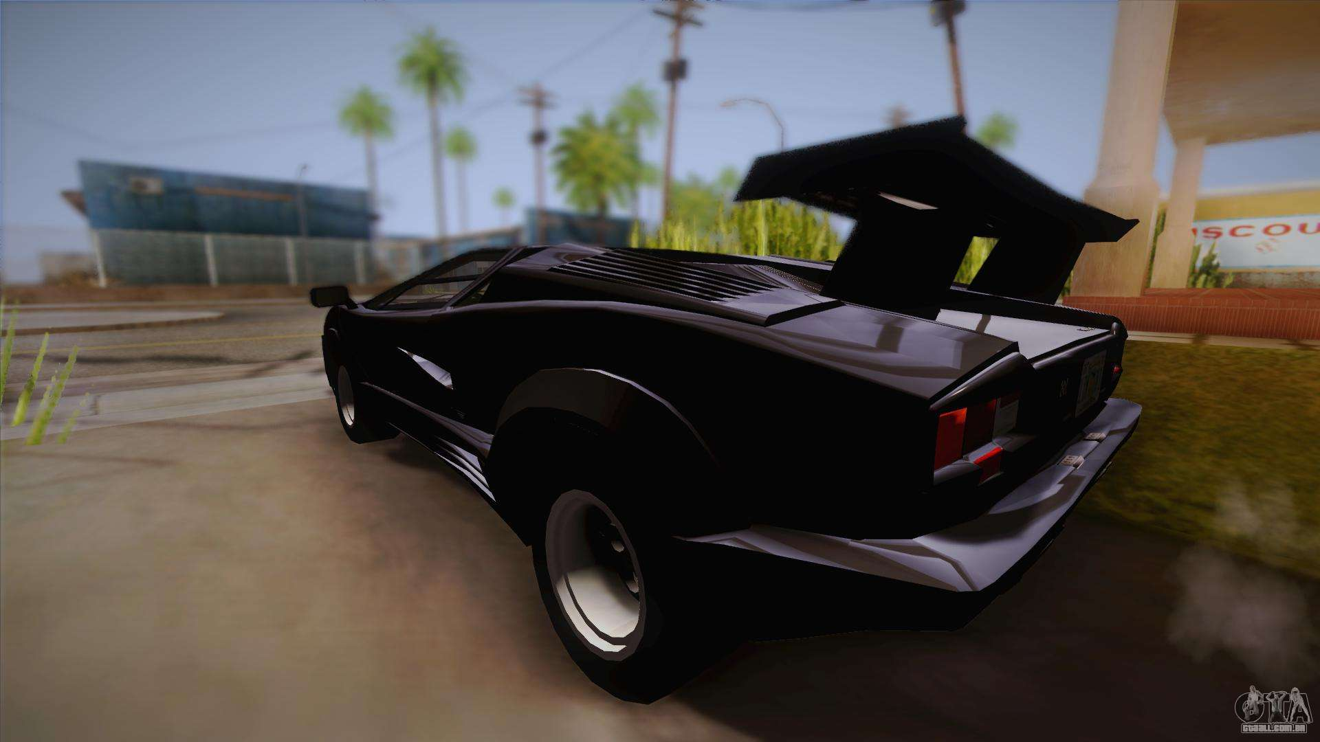 lamborghini countach 25th anniversary para gta san andreas. Black Bedroom Furniture Sets. Home Design Ideas