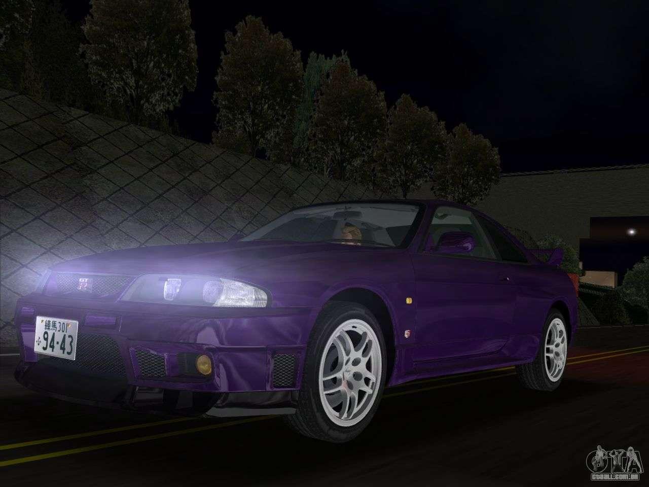 Nissan Skyline Gt R Bnr33 Para Gta Vice City