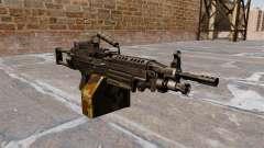 Luz metralhadora M249 SAW