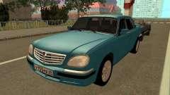 GAZ 31105 Volga Azul para GTA San Andreas