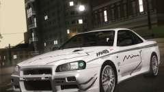 Nissan Skyline Mines R34 2002