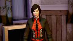 Lady Shiva no jogo Batman Arkham origens para GTA San Andreas