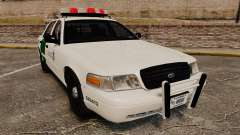 Ford Crown Victoria 1999 U.S. Border Patrol para GTA 4