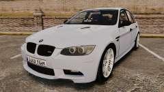 BMW M3 Unmarked Police [ELS] para GTA 4