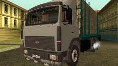 Transportador de madeira MAZ 6430