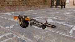 A luz metralhadora RPK-74