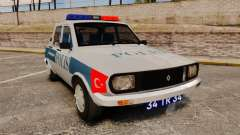 Renault 12 Turkish Police