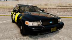 Ford Crown Victoria 2008 Security Patrol [ELS] para GTA 4