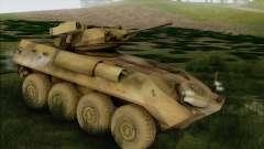 Camuflagem de floresta LAV-25