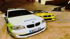 BMW 120i SE Police para GTA San Andreas